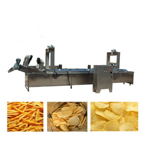 50kg/H Small Capacity Potato Chips French Fries Making Machine Line #1 image