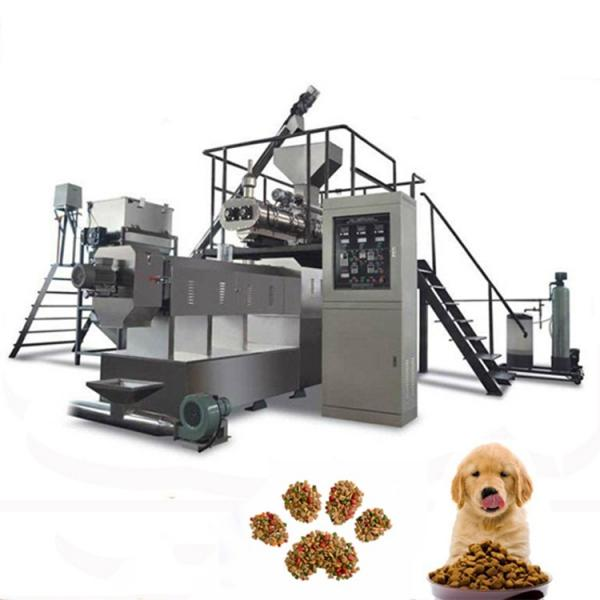Famous Brand Dry Dog Food Pet Snack Dog Treats Chews Gum Processing Production Machine Line Automatic Pet Food Processing Line #1 image