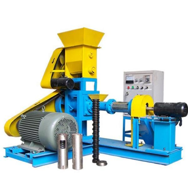 Energy Saving Dry Floating Aqua Fish Feed Pellet Mill Extruder Ornamental Fish Food Extruder Production Machine #1 image
